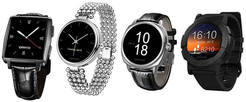 Omate adds two new circular smartwatches to its affordable collection