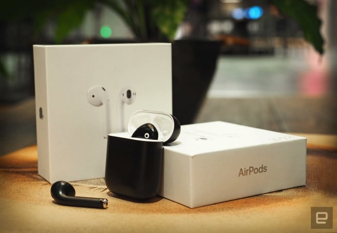 Engadget giveaway: Win a set of refinished AirPods courtesy of BlackPods!