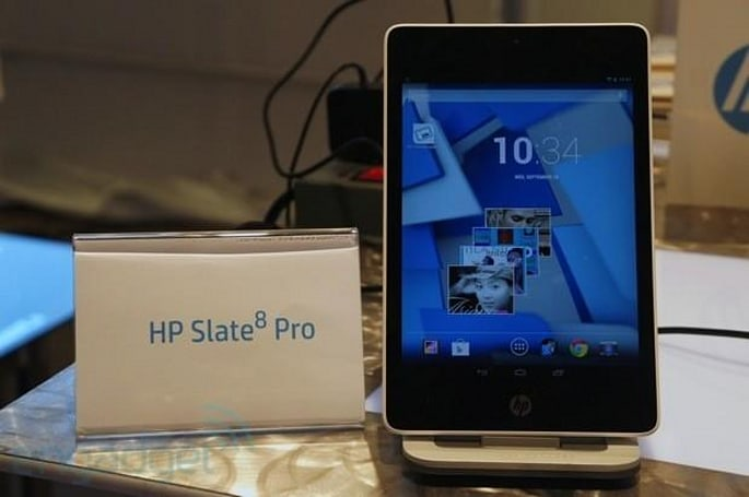 HP fills out its tablet lineup with four Android slates and two Windows models