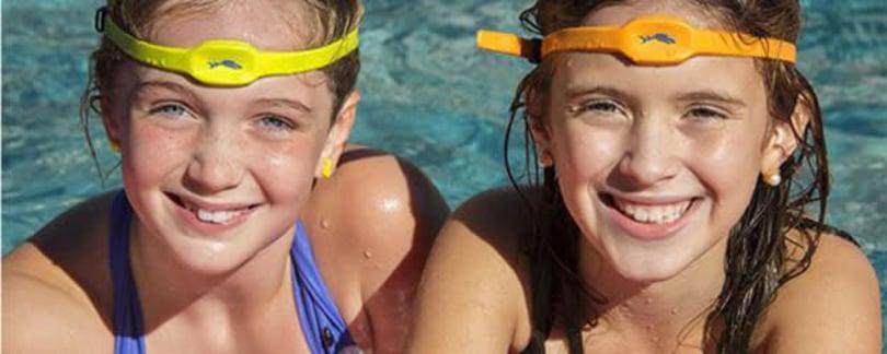 High-tech headband looks to keep kids from drowning