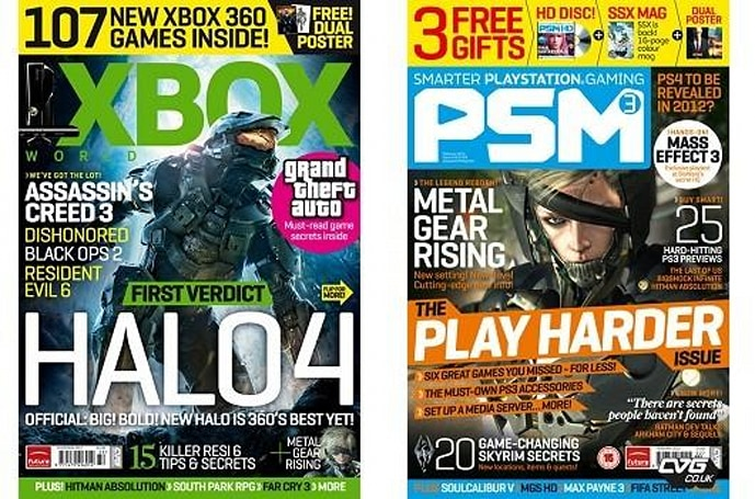 UK magazines Xbox World, PSM3 ceasing publication by December