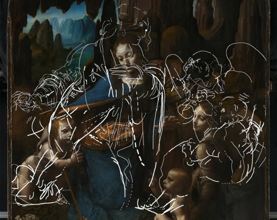 A hidden da Vinci lurks beneath 'The Virgin of the Rocks'