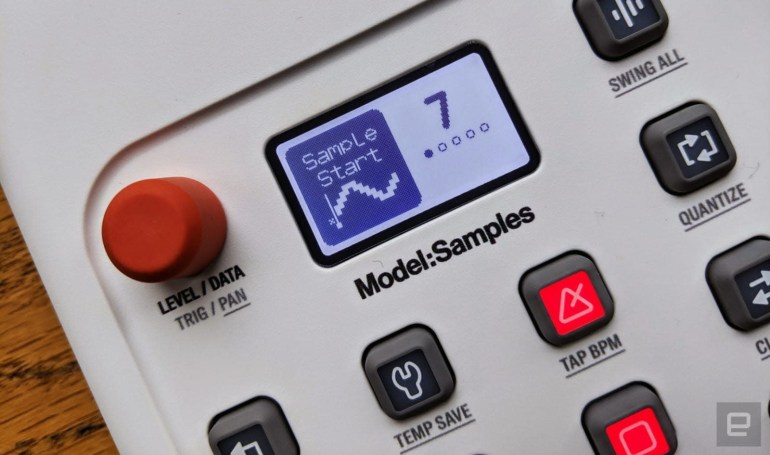 Elektron's Model:Samples groovebox gets improved pitch control