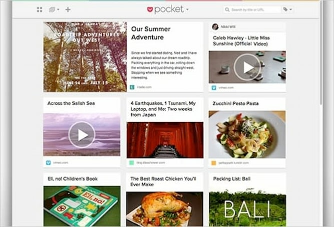 Pocket redesigned on the web: overhauled article viewer, enhanced navigation and more