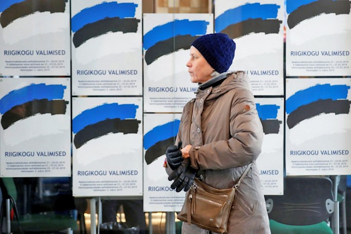 Nearly half of the votes in Estonia's election were cast online