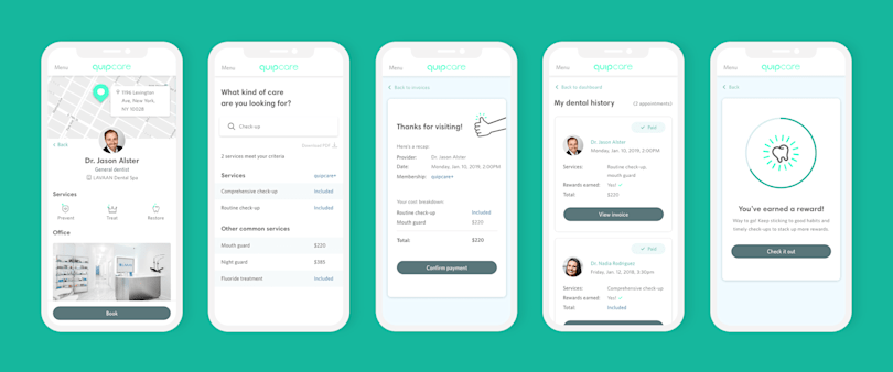 Electric toothbrush maker Quip gets into pay-as-you-go dental care