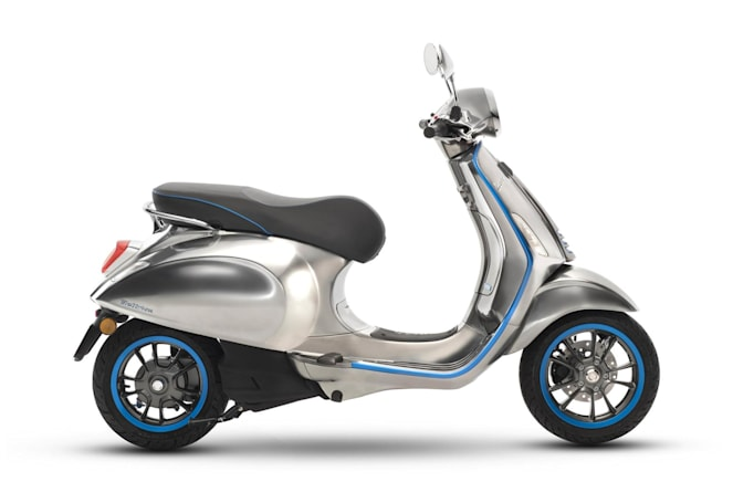 Vespa's first electric scooter goes on sale in Europe this October