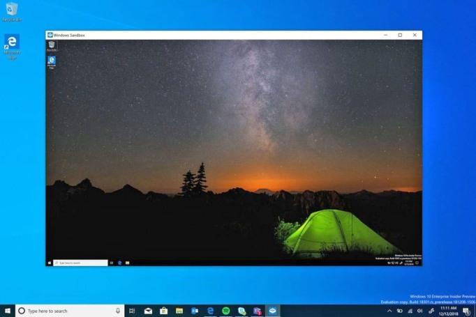 Windows Sandbox is a safer way to run programs you don't trust