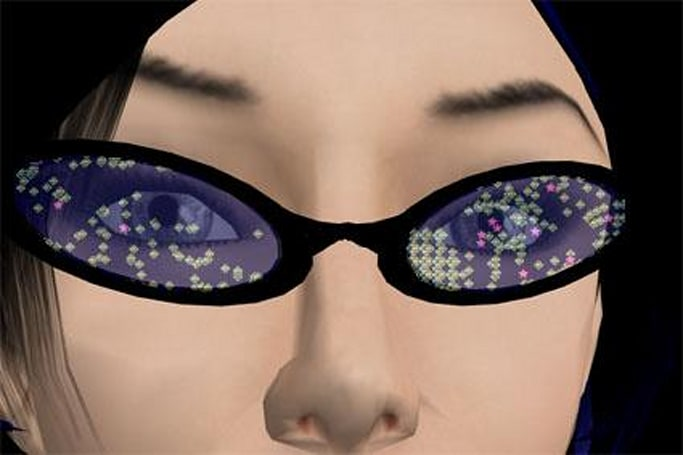 Second Life and the powers of ten
