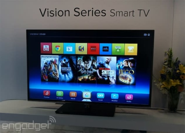 Android TV at CES 2014 highlighted by Chinese manufacturers Hisense and TCL