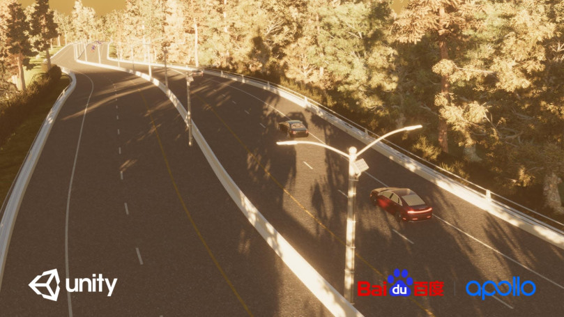 Baidu taps Unity's game engine to test its self-driving cars