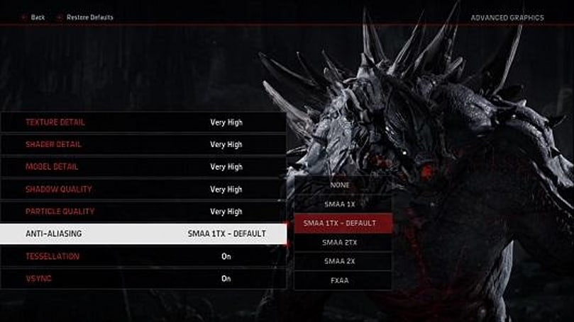 Evolve PC specs sniffed out