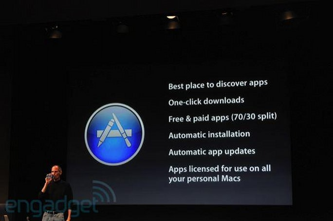 Mac App Store coming to OS X 10.6 and 10.7 'within 90 days'