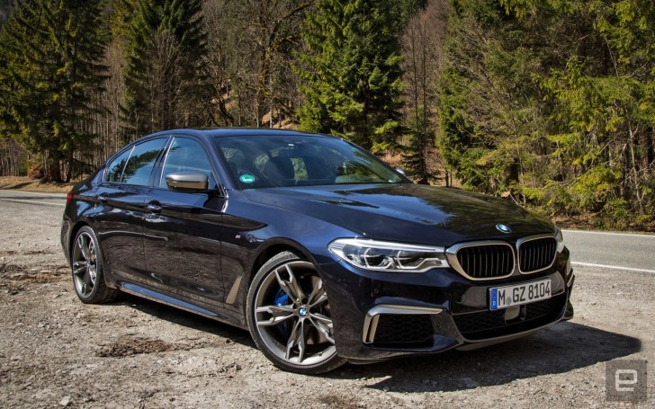 BMW M550i review: Equal parts luxury and power