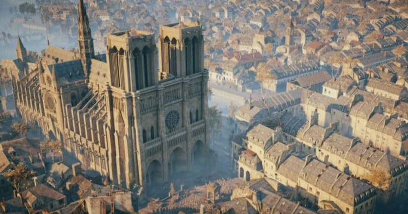 Ubisoft is donating $564,000 to help rebuild Notre-Dame