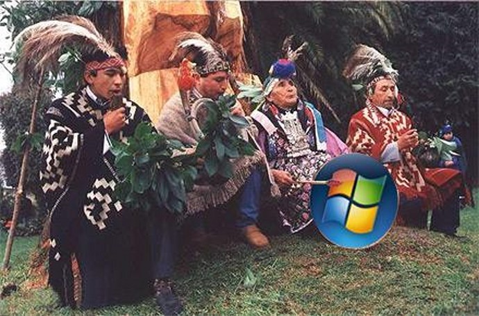 Chilean Mapuche Indians suing Microsoft