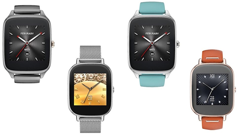 ASUS ZenWatch 2 comes in two sizes with more variations