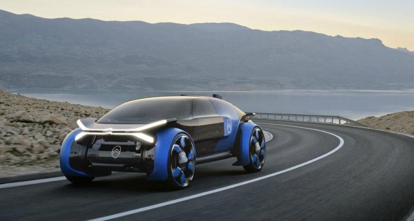 Citroen's futuristic autonomous EV concept is designed for long trips