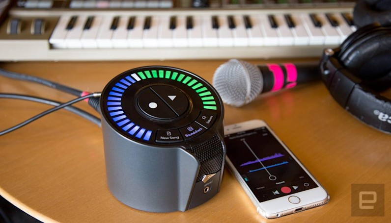 The 'Spire' portable recording studio is all about spontaneity