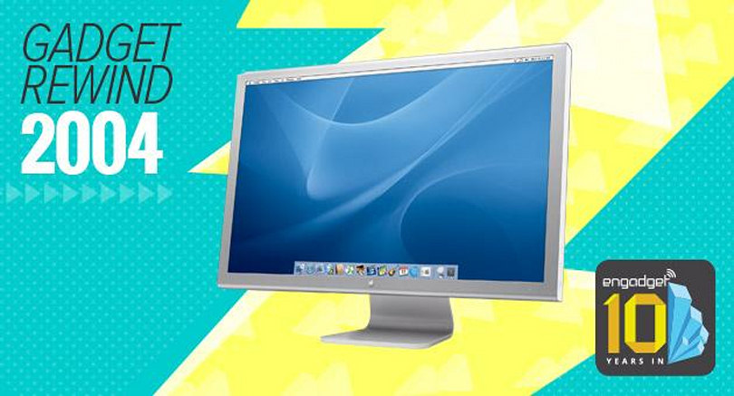Gadget Rewind 2004: Apple Cinema HD display (30-inch)