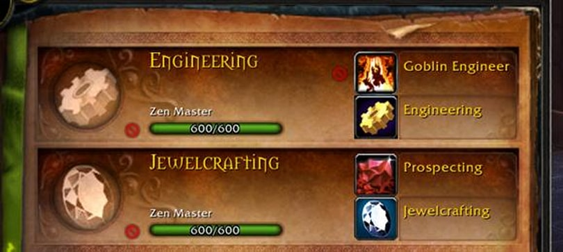 Catch-Up Systems planned for Warlords of Draenor professions