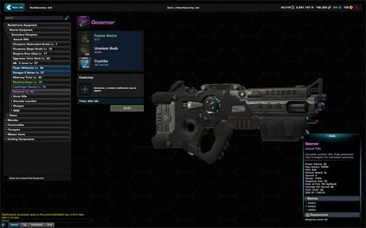 Firefall's getting a LFG window, better crafting