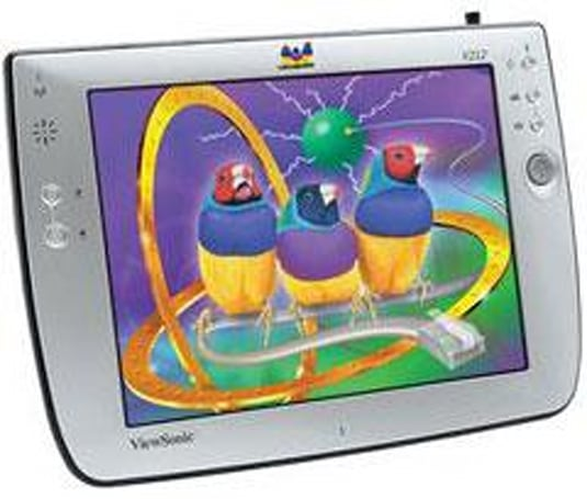Viewsonic's V212 wireless tablet client