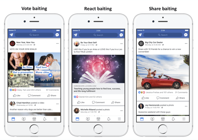 Facebook will begin demoting 'engagement bait' posts in News Feed