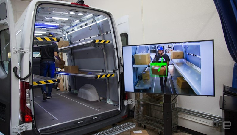 Mercedes' AI research could mean faster package delivery