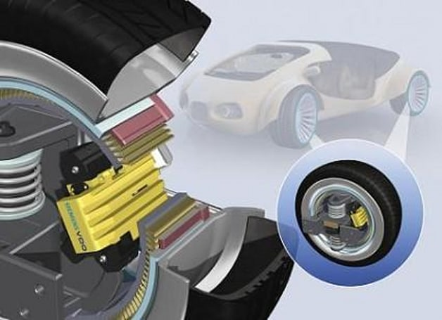 Siemens VDO shows off eCorner motor-in-hub concept