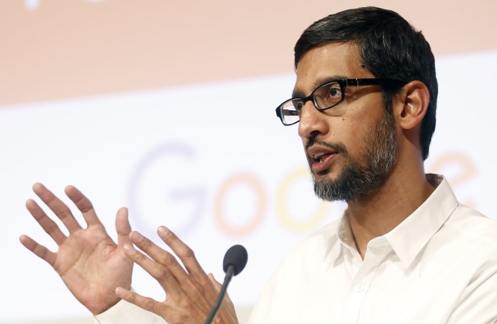 Pichai unveiled Cardboard before seeing the final design