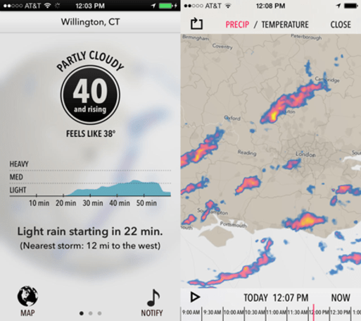 Dark Sky's iOS 7 update has it swinging with the big dogs