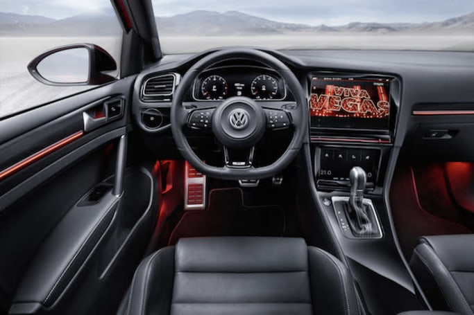 Volkswagen's connected cars have three displays and park themselves
