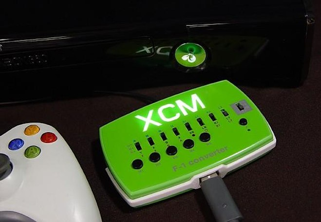 XCM's F-1 Converter lets XBox 360 players get behind G25, G27 racing wheels (video)