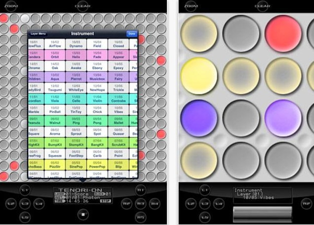 Yamaha's TNR-i app lights up iOS with its musical stylings, dashing looks
