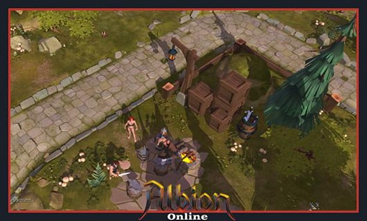 The Stream Team: A first look at Albion Online's alpha event