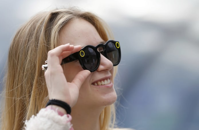 Snap heads to trendy east London to peddle those unsold Spectacles