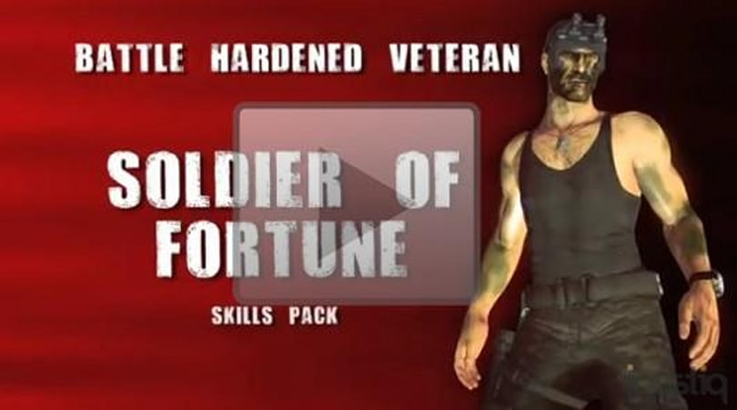 PSA: Dead Rising 2 'Soldier of Fortune' DLC deployed today