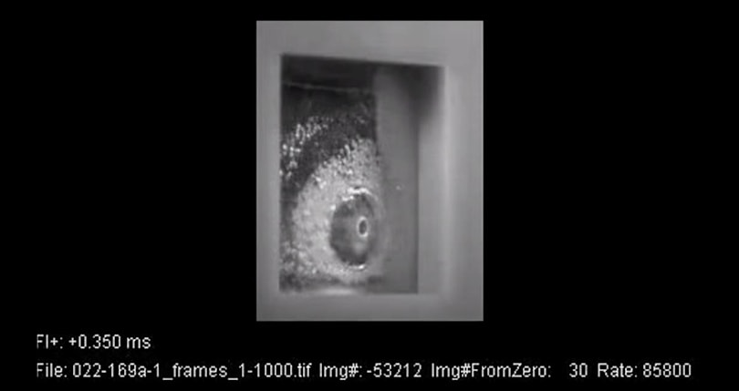 Watch this self-healing material handle a bullet