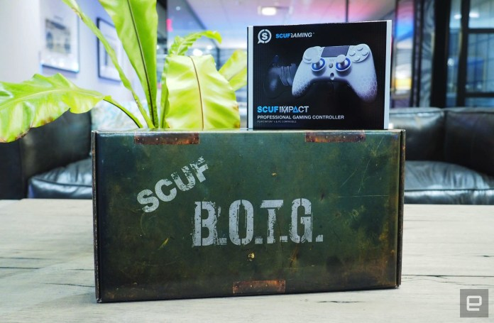 Engadget giveaway: Win a pro controller package from Scuf Gaming!