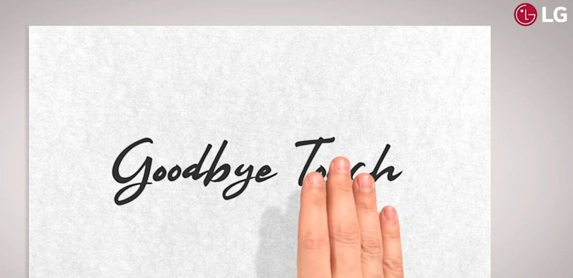 LG's MWC teaser hints at phones with more touchless gestures