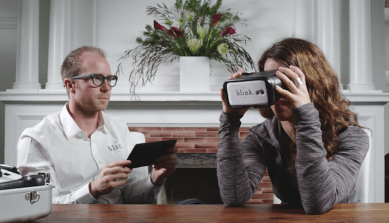 Blink: an on-demand, smartphone-powered service for eye exams