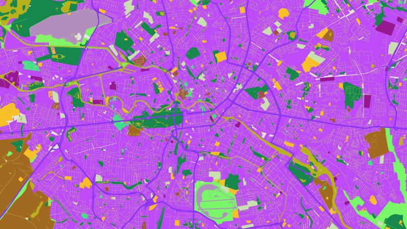 The Big Picture: Google Maps hack creates crazy custom art
