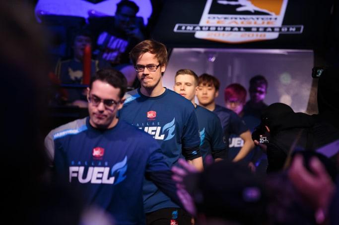 Overwatch League team releases player over hateful speech