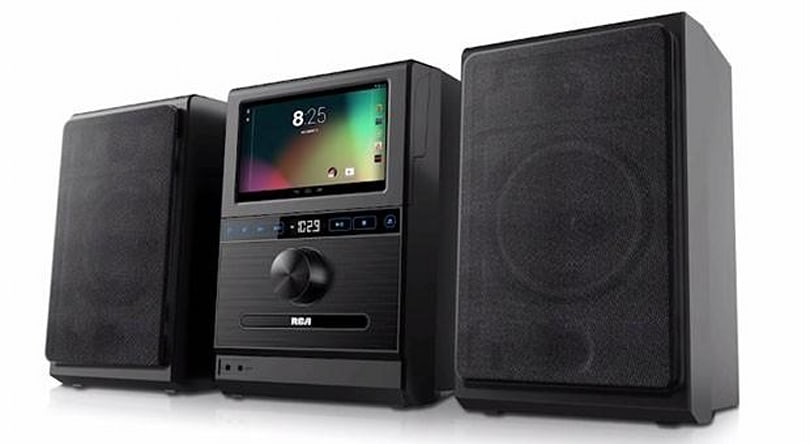 RCA's Internet Music System blends detachable Android tablet, boombox