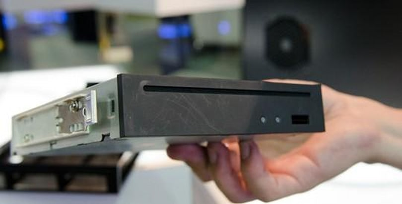 Slimmer 5.25-inch internal optical drive gets wolf-whistled at Computex