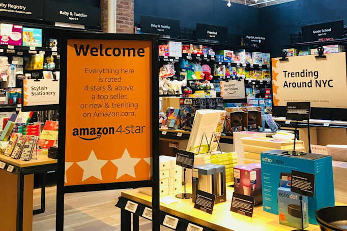 Amazon's new retail store only stocks items rated 4 stars and up