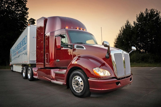 Toyota's latest hydrogen-powered semi boasts 300-mile range
