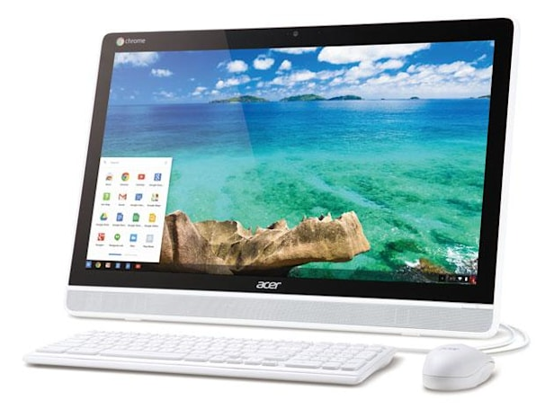 Acer's Chrome OS all-in-one is the first with a touchscreen