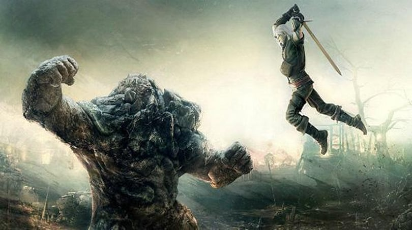 Watch 14 minutes of The Witcher 3's gameplay